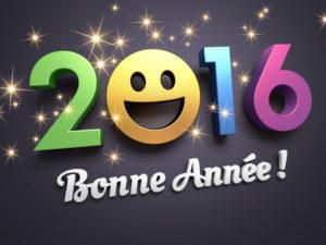 Beaucoup de sourires en 2016 ! Bonne Année !