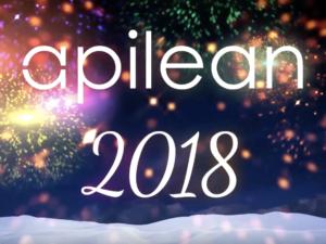 Apilean vous souhaite une excellente Année 2018 ! #api2018