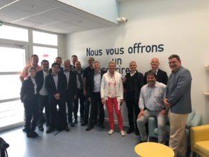 Journée de partage avec le Club Lean France