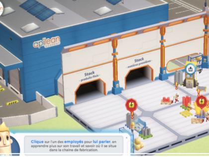 Pratiquez le lean dans une usine virtuelle ! Demandez gratuitement votre démo.